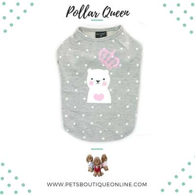 Pet T-shirt - Polar Queen Photo
