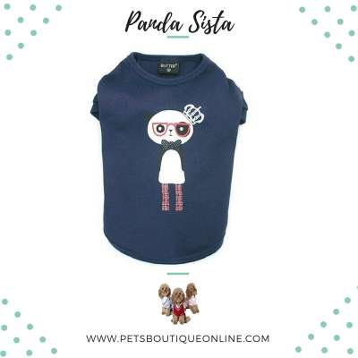 Pet T-shirt - Panda Sista Photo