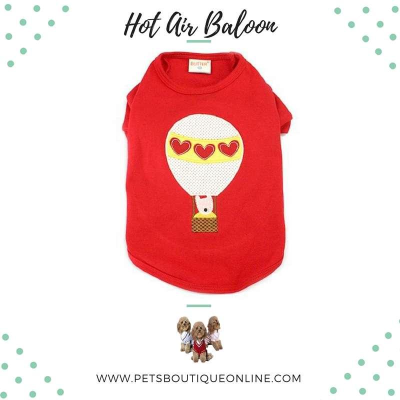 Pet T-shirt - Hot Air Balloon Photo