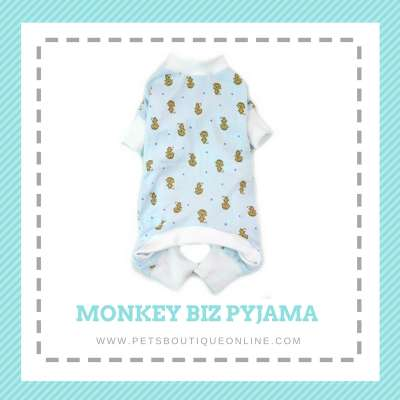 Pet Pyjama All in One Jumper - Monkey Biz Photo