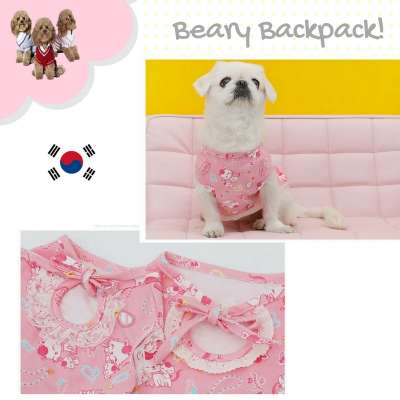 Korea Pet Tshirt - Kitty Pink Photo