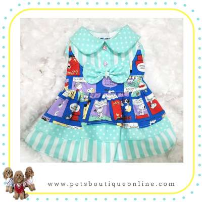 Pet Dress - Tiffany Snoopy Dress Photo
