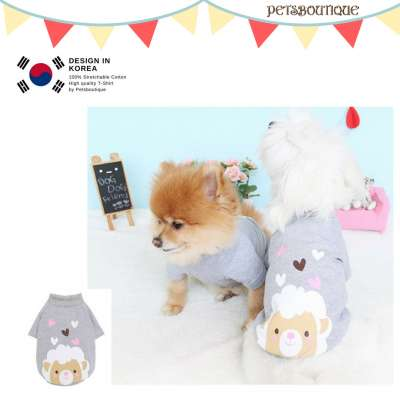 Korea Pet Tshirt - Baba Sheep Photo