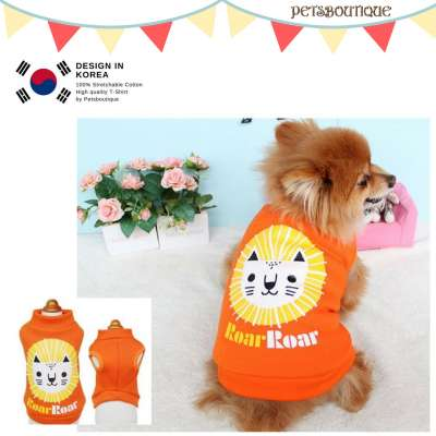 Korea Pet Tshirt - Roar Roar Photo