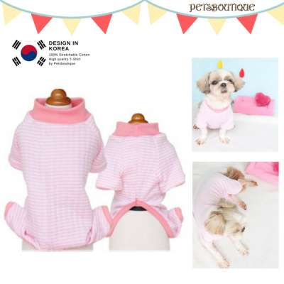 Korea Pet Pyjama - Simply Pink PJ Photo