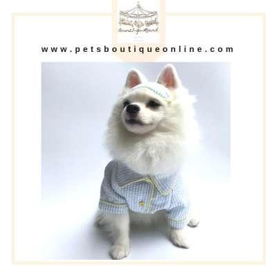 Animal Go Round - BLUE PJ Pyjama Set Photo