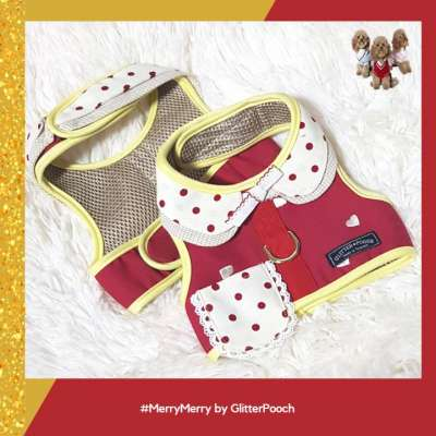 Glitter Pooch - Merry Merry - Dog & Cat Vest Harness Photo