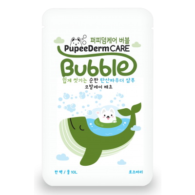 Pupeederm Bubble 2in1 Shampoo Spa - Green Seaweed Photo
