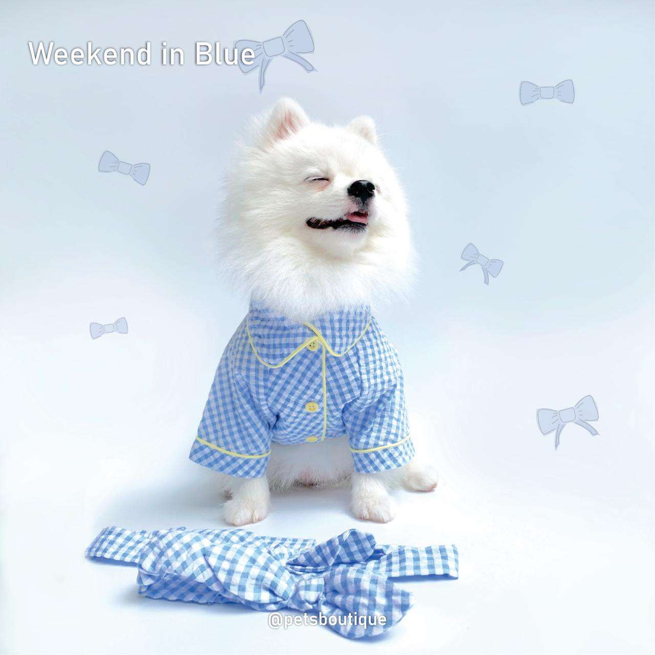 Animal Go Round - Weekend Couple Set - BLUE Photo