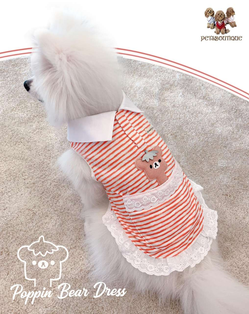 Animal Go Round - Poppin Bear Dress Photo