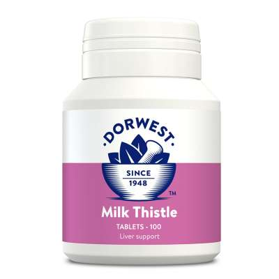 DORWEST -  Milk Thistle Tablets For Dogs And Cats Photo