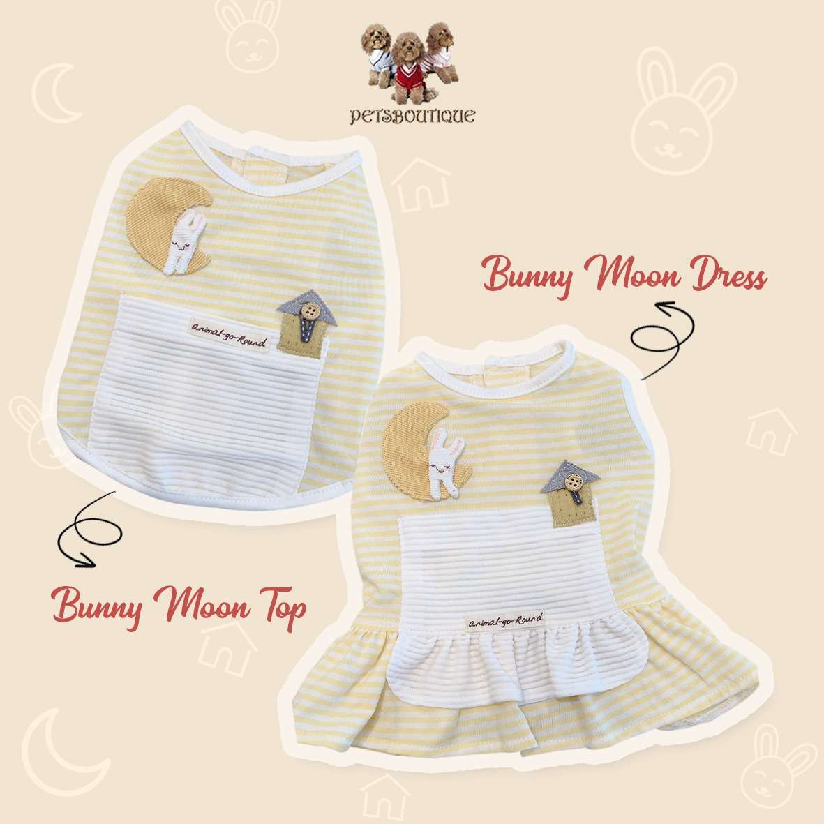 Animal Go Round - Bunny Moon Top & Dress Photo