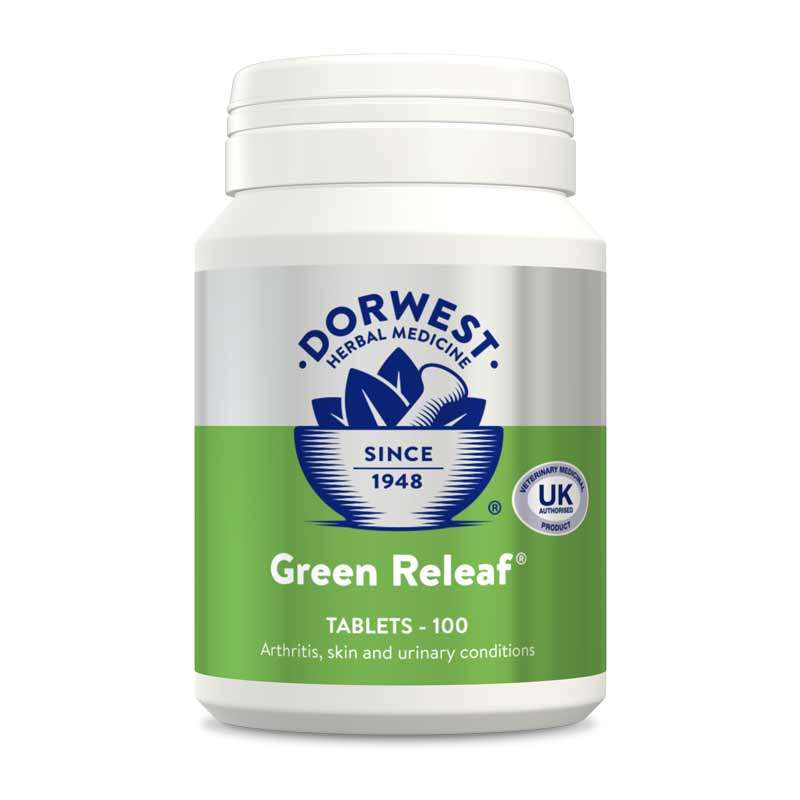 DORWEST - Green Releaf Tablets For Dogs And Cats Photo