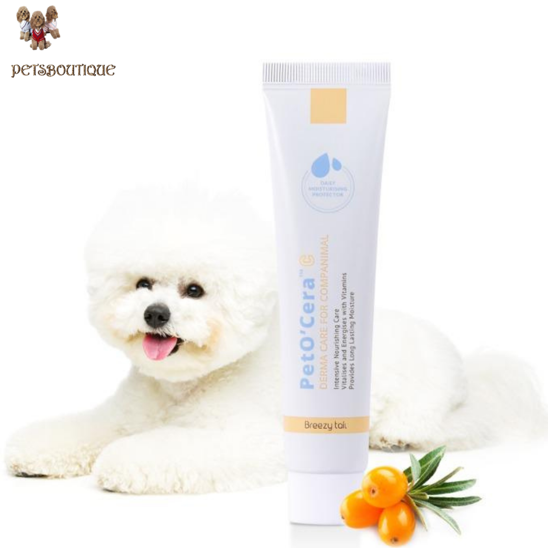 Breezytail - PetO'Cera C - Vitamin Moisturizer for Dogs Photo