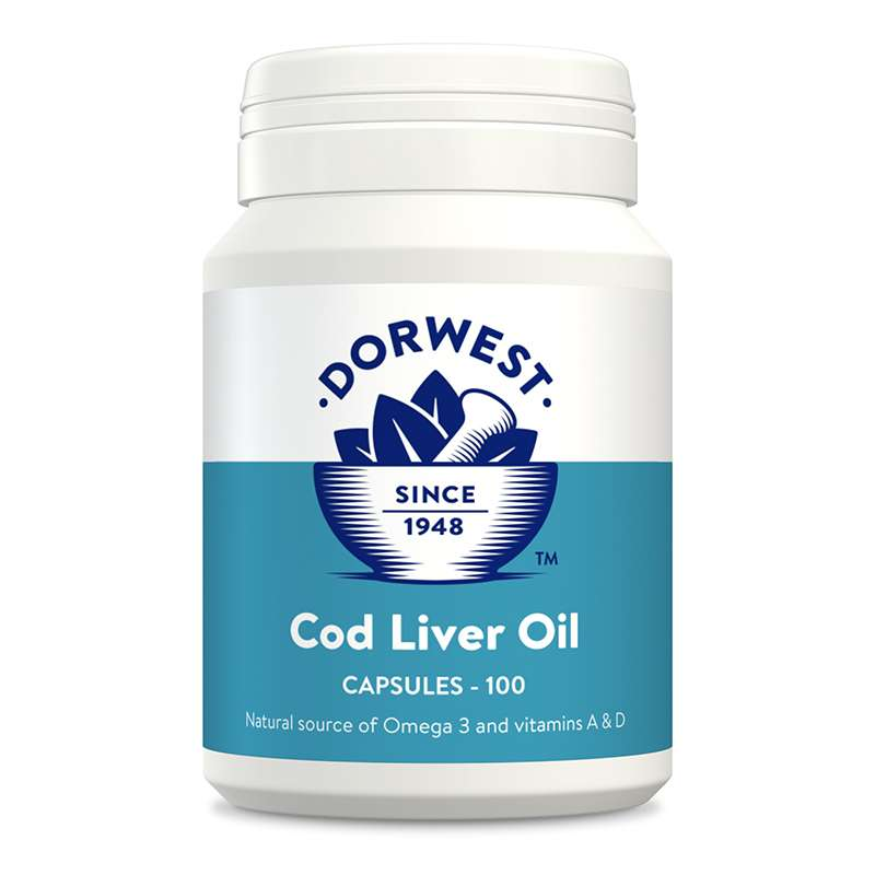 DORWEST -   Cod Liver Oil Capsules For Dogs And Cats Photo