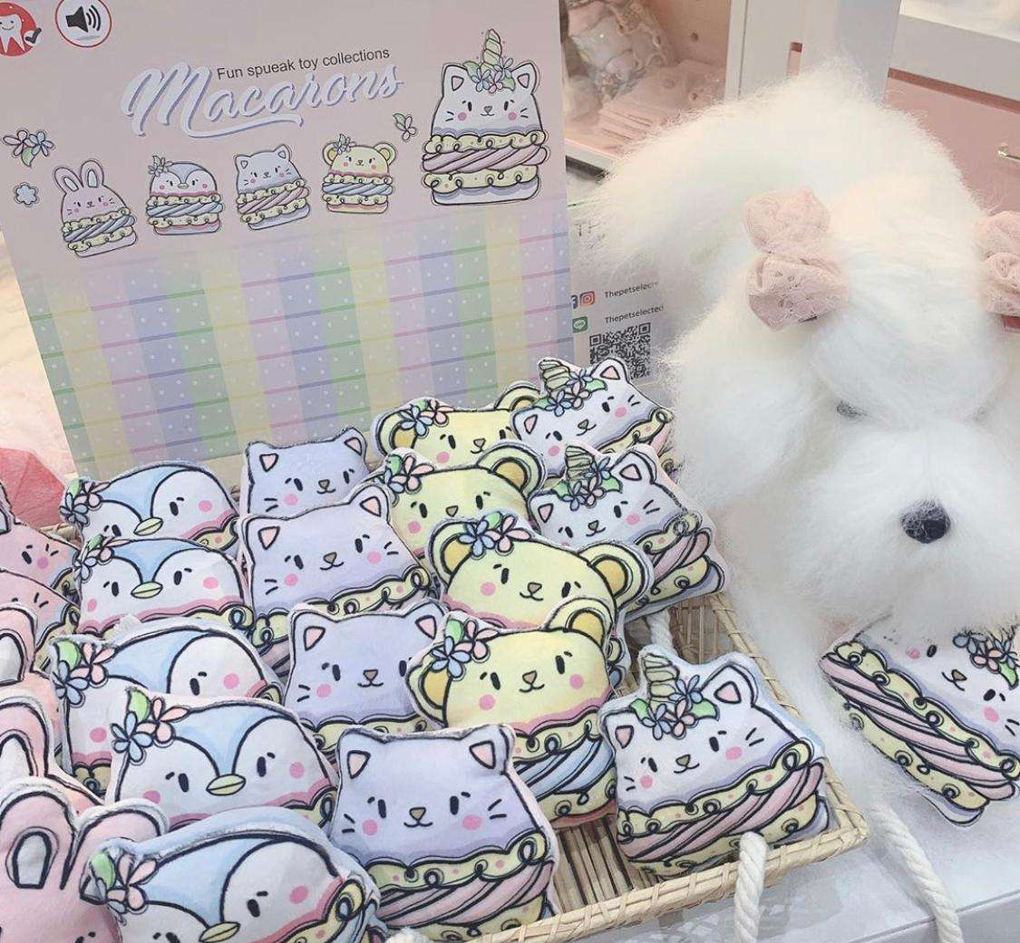 Glitter Pooch - Macarons Collection Photo