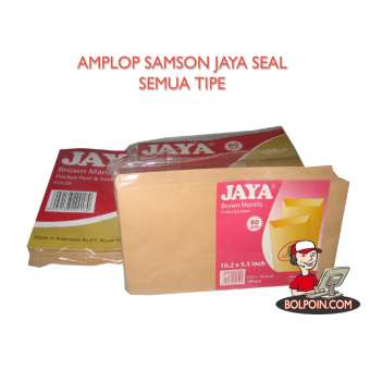 AMPLOP SAMSON JAYA SEAL A (10 X 24) Photo
