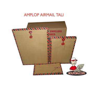 AMPLOP AIRMAIL TALI (310) 25 X 35 Photo
