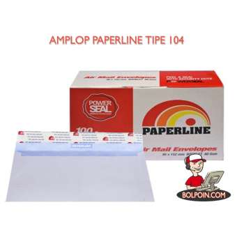 AMPLOP PAPERLINE 104 (TANGGUNG) Photo