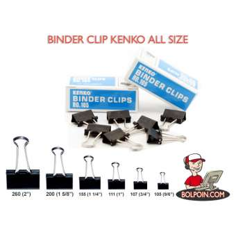 BINDER CLIP KENKO NO 105 Photo