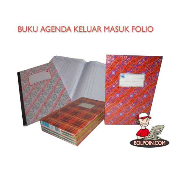 Buku Agenda Keluar Masuk Folio Idora 100 Hc