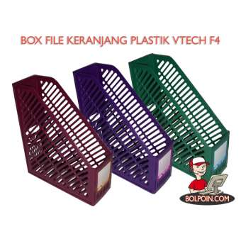 BOX FILE KERANJANG PLASTIC VTEC FOLIO Photo