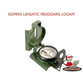 KOMPAS LENSATIC PENGGARIS LOGAM L9000 Photo
