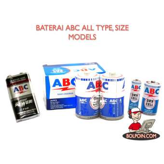 BATERAI ABC AA ISI 4 Photo