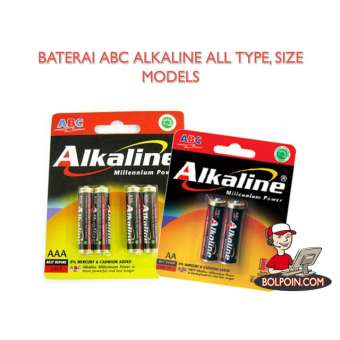 BATERAI ALKALINE AA ISI 6 Photo