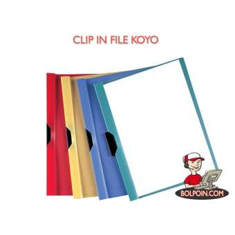 CLIP IN FILE KOYO FOLIO (MAP DURABLE) Photo