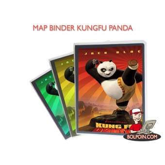 MAP BINDER PP-329 A5 (KUNGFU PANDA) Photo