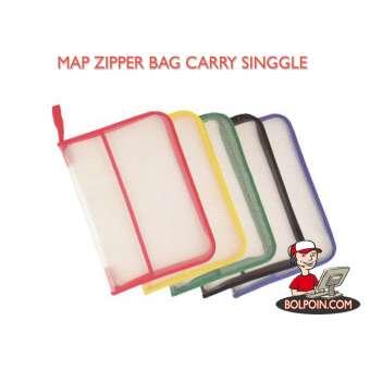 MAP ZIPPER BAG CARRY SP-388 Photo