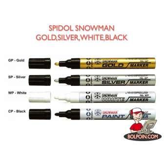 SPIDOL SNOWMAN GOLD BESAR (GP-12) Photo