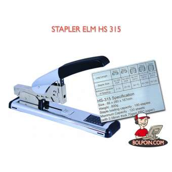 STAPLER ELM HS 315 Photo