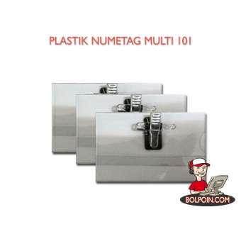 PLASTIC NAMETAG MULTI 101 + JEPITAN Photo