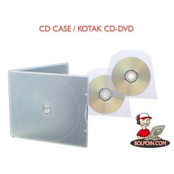 CD CASE PLASTIK DOUBLE WARNA Photo