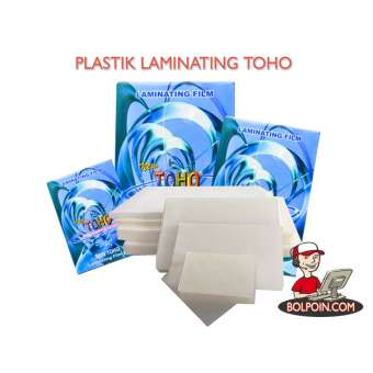 LAMINATING TOHO A3 100 U ( 320 X 440 MM X 100 U ) Photo