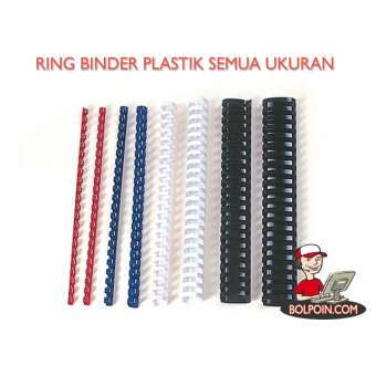 RING BINDER PLASTIK  HITAM 9/16 inch Photo