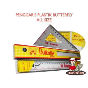 PENGGARIS SEGITIGA SET BUTTERFLY 10 Photo