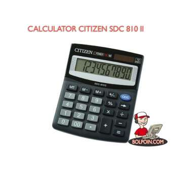 KALKULATOR CITIZEN SDC 810 BN Photo