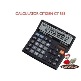 KALKULATOR CITIZEN CT 555 N Photo