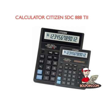 KALKULATOR CITIZEN SDC 888 T II Photo