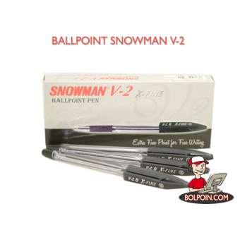 BALLPOINT SNOWMAN V-2 Photo
