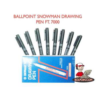 BALLPOINT SNOWMAN DRAWING PEN 700 Photo