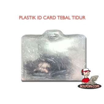 PLASTIK IDENTITAS TEBAL TIDUR Photo