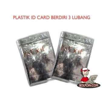 PLASTIK IDENTITAS BERDIRI 3 LUBANG 10,5 X 16 Photo