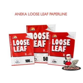 LOOSE LEAF PAPERLINE B5 100 SHEET Photo