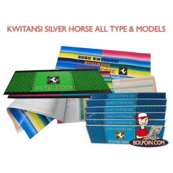 KWITANSI SILVER HORSE MINI ISI 12 BUKU Photo
