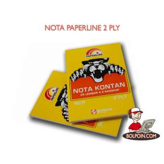 NOTA PAPERLINE KECIL NCR 2 PLY Photo