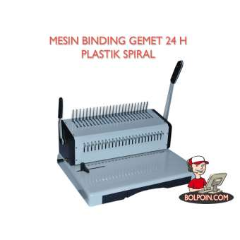 MESIN BINDING GEMET 24 H (PLASTIC SPIRAL) Photo